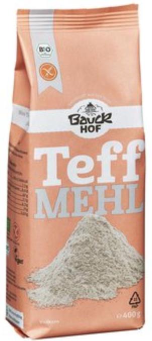Teff flour by Bauckhof