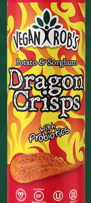Sorghum Dragon Crisps by Vegan Rob's