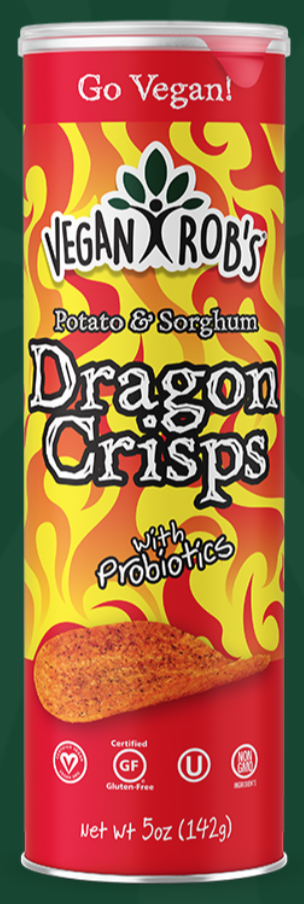 Sorghum Dragon Crisps by Vegan Rob's
