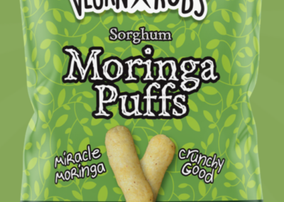 Sorghum Moringa Puffs by Vegan Rob's