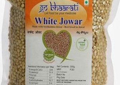 White Jowar by Go Bhaarati