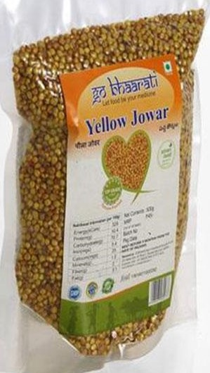 Yellow Jowar by Go Bhaarati