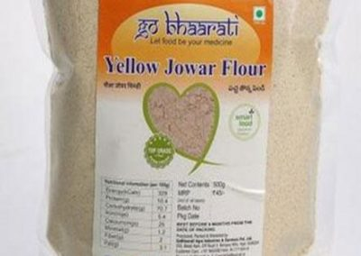 Yellow Jowar Flour by Go Bhaarati