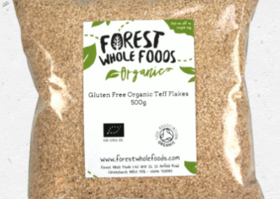 Organic Teff Flakes by Forest Wholefoods