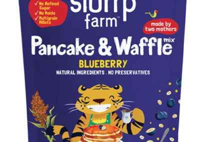 Pancake and Waffle Blueberry Millet Mix by Slurrp Farm
