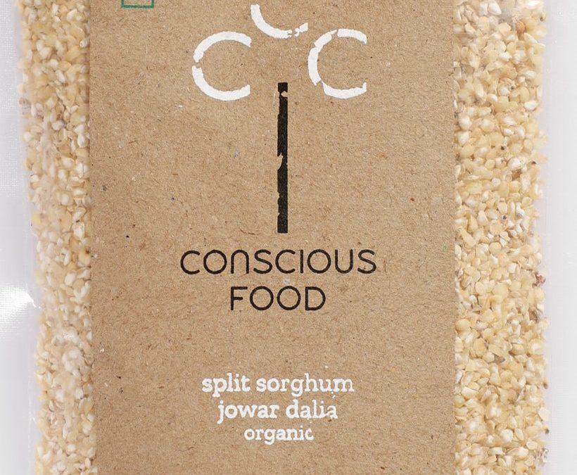 Split Sorghum (Jowar Dalia) by Conscious Foods