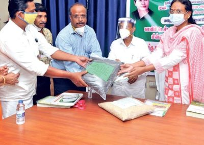 After 50 yrs, Tiruvarur farmers reap success in millets cultivation
