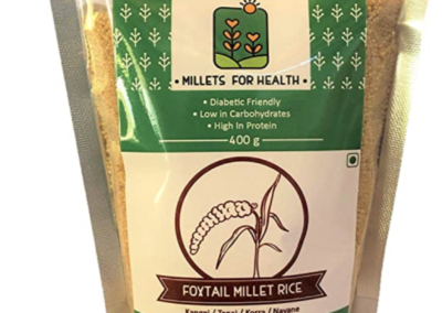 Foxtail Millet Rice by Millets for Health