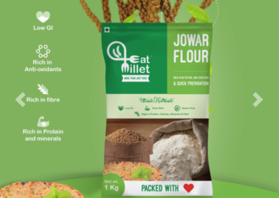 Jowar Flour by Eat Millets, Coastal Foods