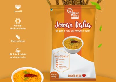 Jowar Dalia by Eat Millets, Coastal Foods