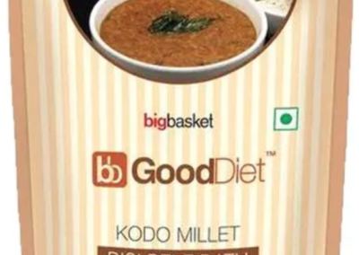Kodo Millet Bisi Bele Bath by Good Diet, BigBasket