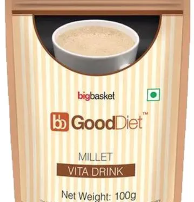 Millet Vita Drink by Good Diet, Big Basket
