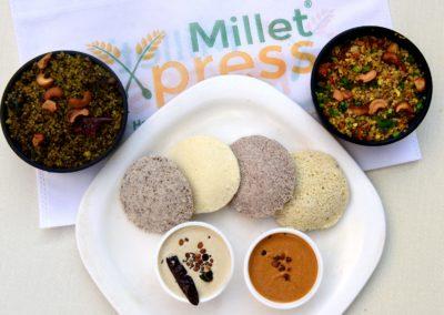 Embark the Millet Express