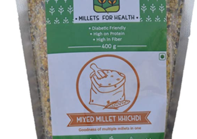 Mixed Millet Khichdi by Millets for Health