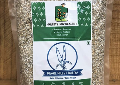 Pearl Millet Daliya (Semolina) by Millets for Health