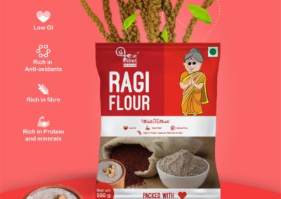 Ragi Atta by Eat Millets, Coastal Foods