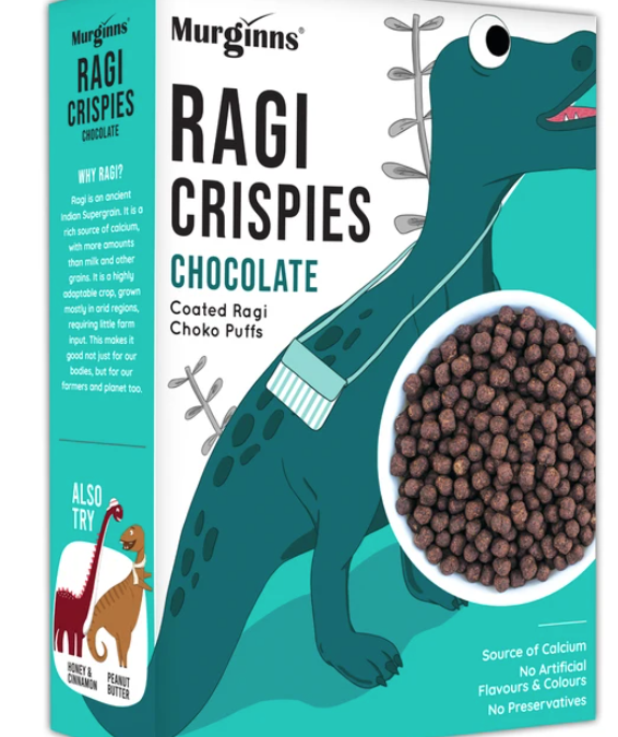 Ragi Crispies Chocolate Flavour by Murginns