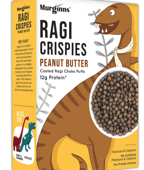 Ragi Crispies peanut butter by Murginns