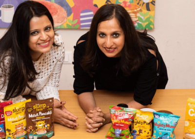 How these women entrepreneurs are putting the 'healthy' into snacks for children